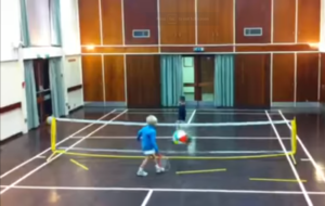 beach ball tennis