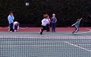 tennis agility drill