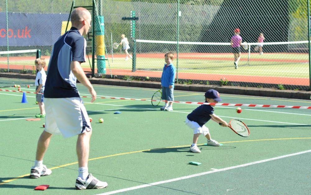 tots tennis exercises