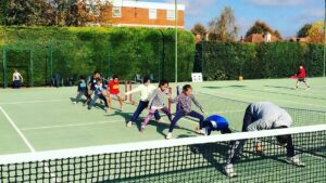 Tennis coaching website